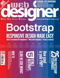 Web Designer magazine issue 214